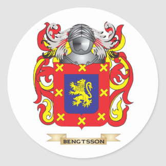 Bengtsson Coat of Arms Family Crest Sticker