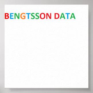 Bengtsson dates poster