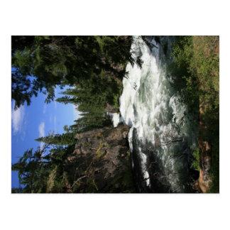 Benham Falls Postcard