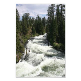 Benham Falls, Sunriver, Oregon Art Photo