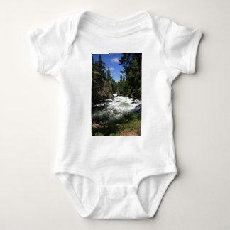 Benham Falls, Sunriver, Oregon Baby Bodysuit