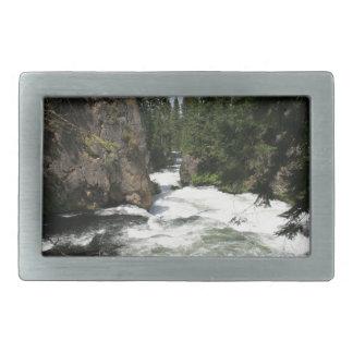 Benham Falls, Sunriver, Oregon Belt Buckle
