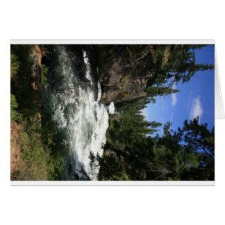 Benham Falls, Sunriver, Oregon Card