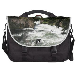 Benham Falls, Sunriver, Oregon Computer Bag