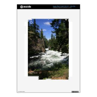 Benham Falls, Sunriver, Oregon Decals For iPad 3