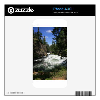 Benham Falls, Sunriver, Oregon iPhone 4 Skin