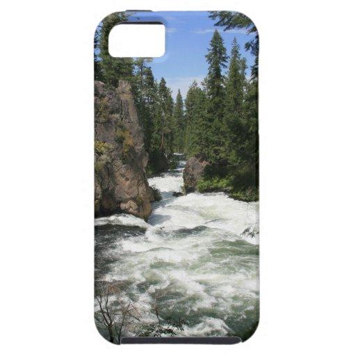Benham Falls, Sunriver, Oregon iPhone 5 Case