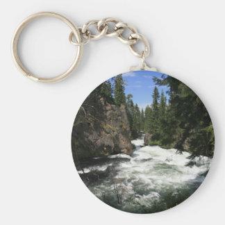 Benham Falls, Sunriver, Oregon Keychain