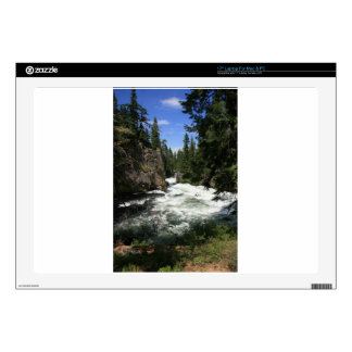 Benham Falls, Sunriver, Oregon Laptop Skins