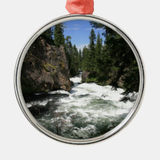 Benham Falls, Sunriver, Oregon Christmas Tree Ornaments