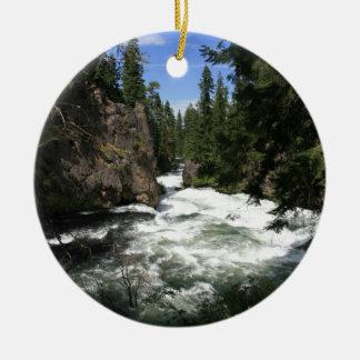 Benham Falls, Sunriver, Oregon Ornaments