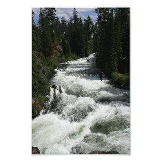 Benham Falls, Sunriver, Oregon Photo Print