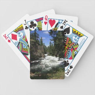 Benham Falls, Sunriver, Oregon Poker Deck