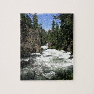 Benham Falls, Sunriver, Oregon Puzzles