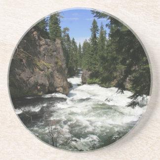 Benham Falls, Sunriver, Oregon Sandstone Coaster