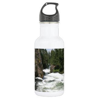 Benham Falls, Sunriver, Oregon Water Bottle