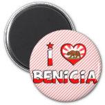 Benicia, CA Imán Para Frigorífico