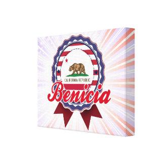 Benicia, CA Impresión De Lienzo