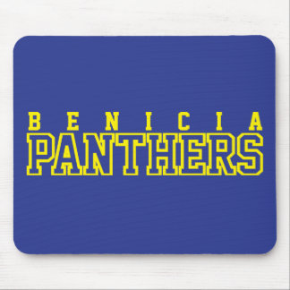 Benicia Panthers Mouse Pad