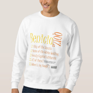 Benicia Quiz Sweatshirt FRONT
