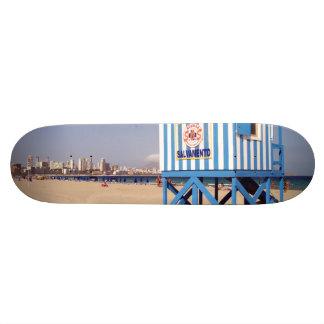 Benidorm, playa de Poniente Skateboards