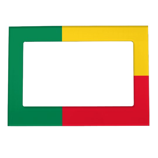 Benin – Beninese Flag Magnetic Photo Frame