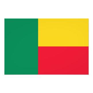 Benin – Beninese Flag Photograph