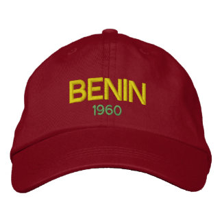Benin Classic Embriodered Hat Embroidered Hat