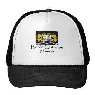 Benin Coat of Arms Mission T-Shirt LDS Trucker Hats