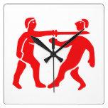 Benin Empire Flag / Emblem Wall Clock