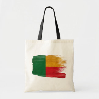 Benin Flag Canvas Bags