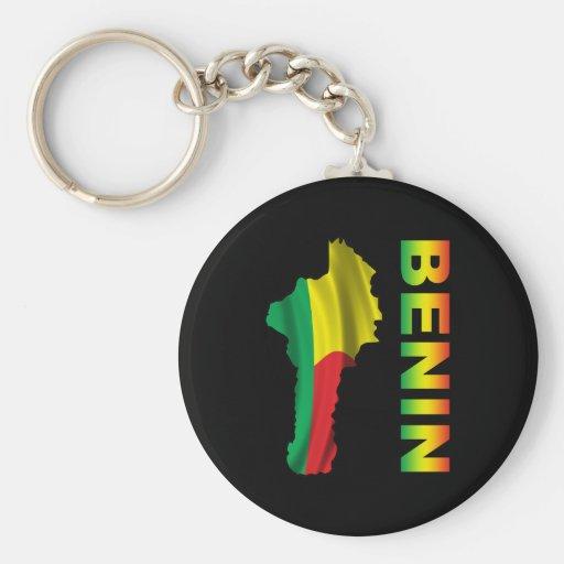 Benin Llavero Redondo Tipo Pin