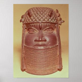 Benin mask posters