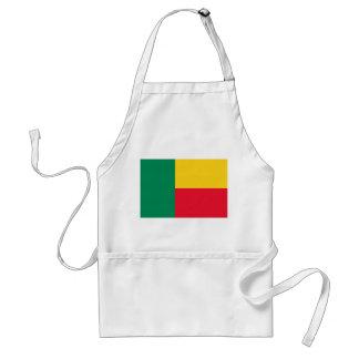 Benin National World Flag Adult Apron