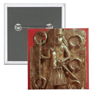 Benin plaque button