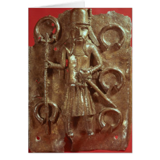Benin plaque card