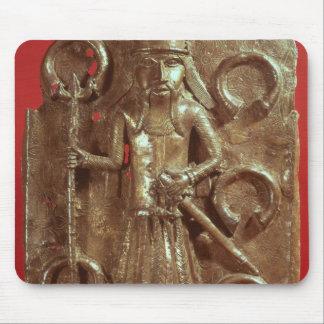 Benin plaque mouse pad