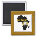 Benin Reublic Flag T-shirt And Etc Fridge Magnets