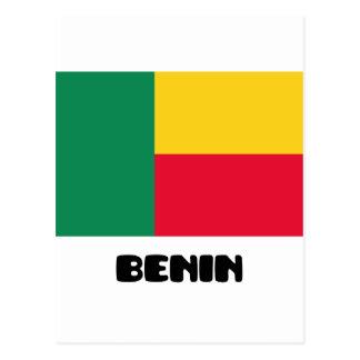 Benin Tarjeta Postal