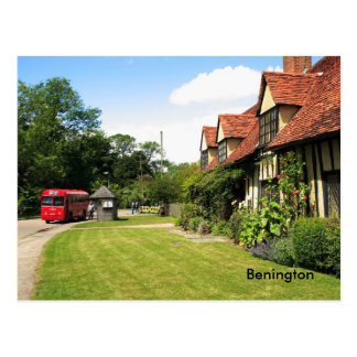 Benington Hertfordshire Postcard
