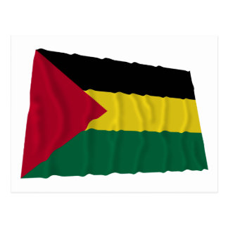 Benishangul-Gumaz Waving Flag Postcard