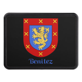 Benitez Family Shield Tow Hitch Cover