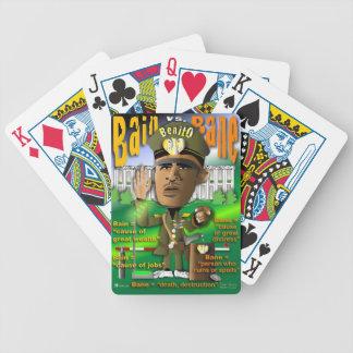 Benito Bain vs. Bane Bicycle Playing Cards