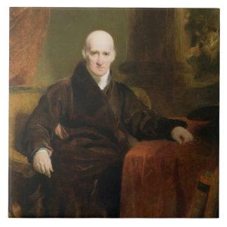 Benjamin (1738-1820) 1810 del oeste (aceite en el  azulejo cuadrado grande