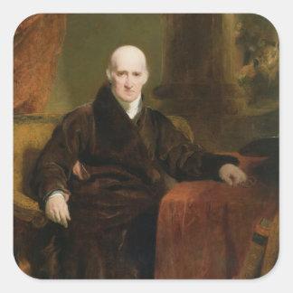 Benjamin (1738-1820) 1810 del oeste (aceite en el pegatina cuadrada