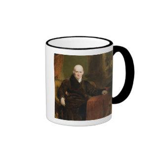 Benjamin (1738-1820) 1810 del oeste (aceite en el  tazas de café