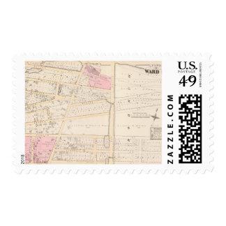 Benjamin Allen's Plat and James Fenn Atlas Map Postage