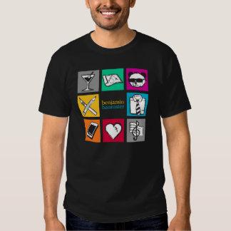 "benjamin bannister ""Cube"" T-Shirt"