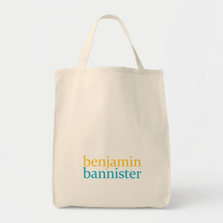 benjamin bannister grocery tote
