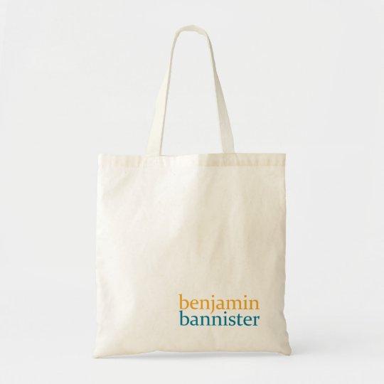 Benjamin Bannister Tote Bag